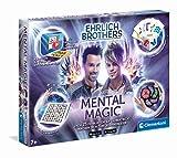 Clementoni 59182 Ehrlich Brothers Mental Magic, Zauberkasten für Kinder ab 7 Jahren, magische Anleitung für verblüffende Zaubertricks, inkl. 3D Erklärvideos