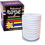 SOLOMAGIA Professional Rope - 15 mt. - White (100% Cotton) - Magie mit Seil - Zaubertricks und Props