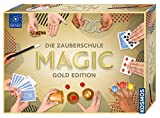 Kosmos Zauberschule Magic Gold Edition, 150 Zauber-Tricks von leicht bis anspruchsvoll, viele magische Zauber-Utensilien, Zauberkasten für Kinder ab 8 Jahre und Einsteiger, inkl. Online-Erklär-Videos
