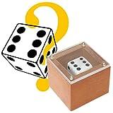 Impossible Prediction Die - Würfel ändert Seine Position in einem verschlossenen Kästchen, Zaubertrick für Jedermann, Magic Trick, Zauberartikel mit deutschsprachiger Anleitung